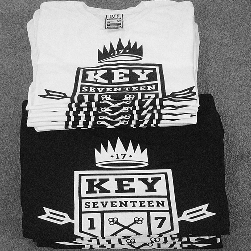 keyseventeen tshirts