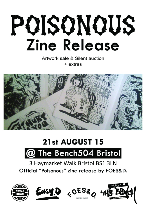 zine launch poster
